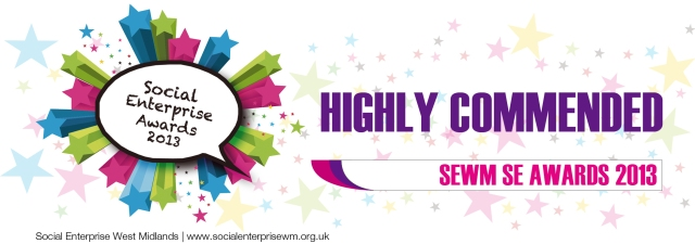 SEWM highly commended logo